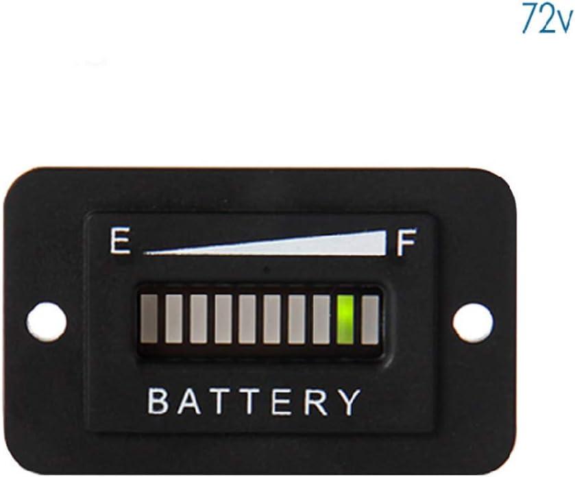 Wenjuersty - Indicador LED de carga de batería, 12-24 V, 36 V, 48 V, 72 V, para carretillas elevadoras 4