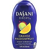 DASANI Drops Orange Passionfruit, 1.9 fl oz