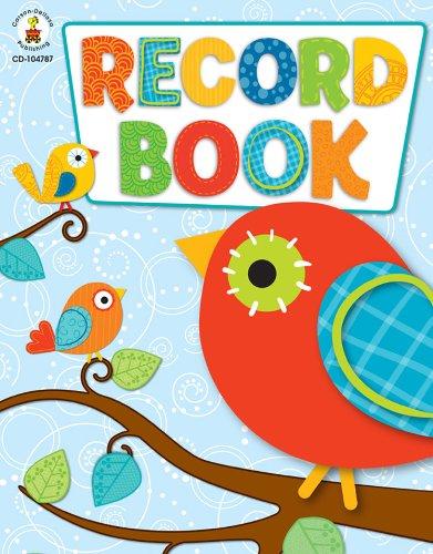 Boho Birds Record Book