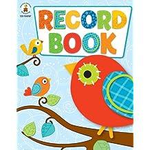 Carson-Dellosa 104787 Boho Birds Record Book