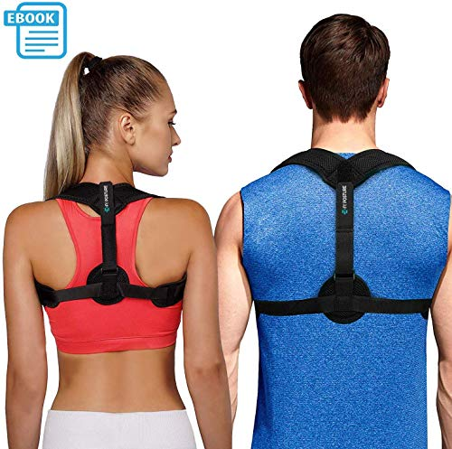 strong Posture Corrector for Women Men - Posture Brace - FDA Approved, USA Designed - Adjustable Back Straightener - Comfortable Posture Trainer for Spinal Alignment and Posture Support