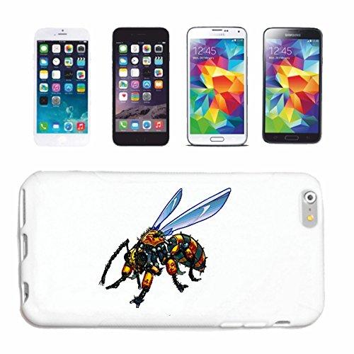 """cas de téléphone iPhone 7 """"FOLD BEE WASP MIEL ELEGANT GUÊPES HORNET"""" Hard Case Cover Téléphone Covers Smart Cover pour Apple iPhone en blanc"""