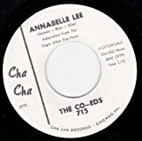 When It's Over/Annabelle Lee (VG++ 45 rpm)