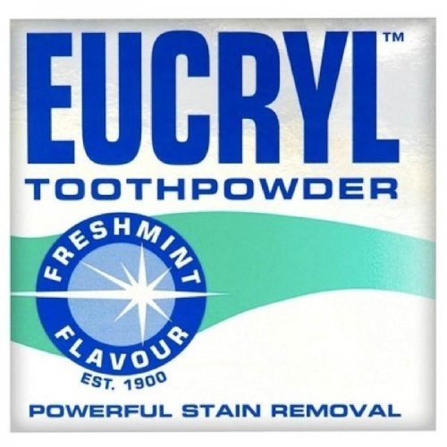Eucryl Smokers Tooth Powder Freshmint Flavour - With Polishing Toothpaste