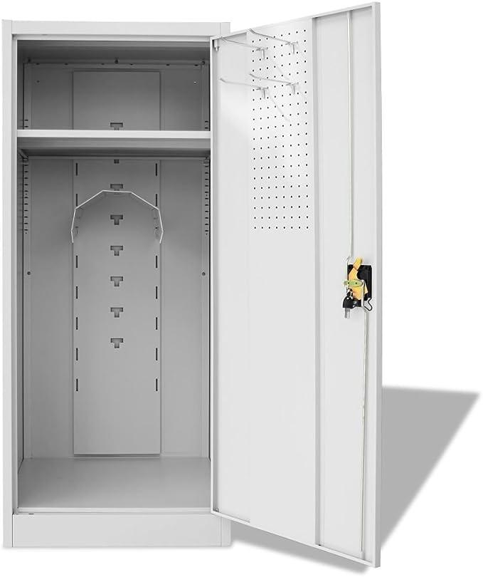 vidaXL Armoire /à Selle Rangement Equipement de Sport Equestre Saddle Cabinet
