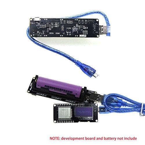 Makerfocus Wemos 18650 Battery Shield V3 ESP32 for Raspberry Pi and