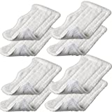 Iautomatic 8pcs Replacement Microfiber Pads for Euro Pro Shark Steam Mop S3250 S3101 (set of 8)
