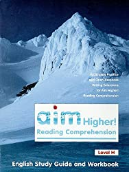 Aim Higher! Reading Comprehension Level H English Study Guide and Workbook