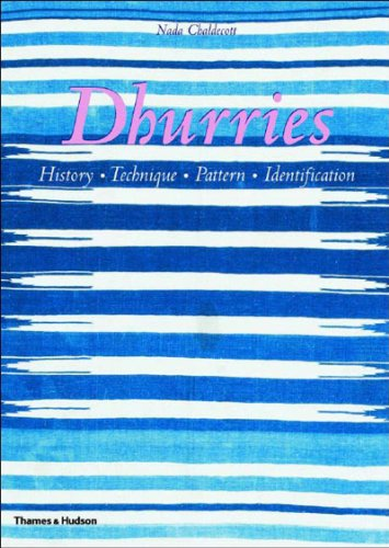 Dhurries: History, Technique, Pattern, Identification by Thames & Hudson