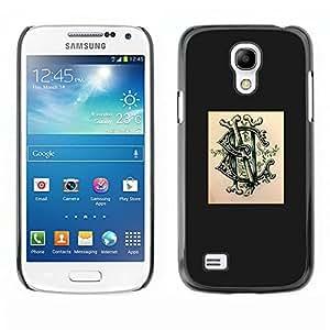 Caucho caso de Shell duro de la cubierta de accesorios de protección BY RAYDREAMMM - Samsung Galaxy S4 Mini i9190 MINI VERSION! - Poser Ink Tattoo Graffiti