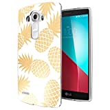 002835 - Tropical Pineapple Fruit Fashion Trendy Design LG G3 Fashion Trend CASE Gel Rubber Silicone All Edges Protection Case Cover