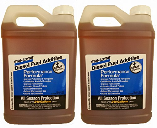 Stanadyne Performance Formula Diesel Fuel Additive 2 Pack of 1/2 Gallon Jugs – Part # 38566