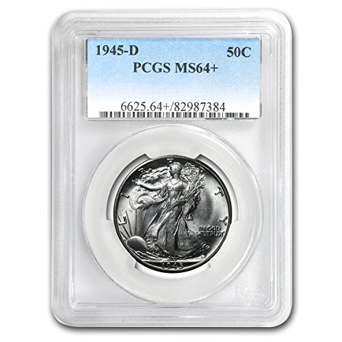 1945 D Walking Liberty Half Dollar MS-64 PCGS Half Dollar MS-64 PCGS