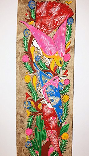 Painting Mexican Bark (Mexican Amate Bark Painting)
