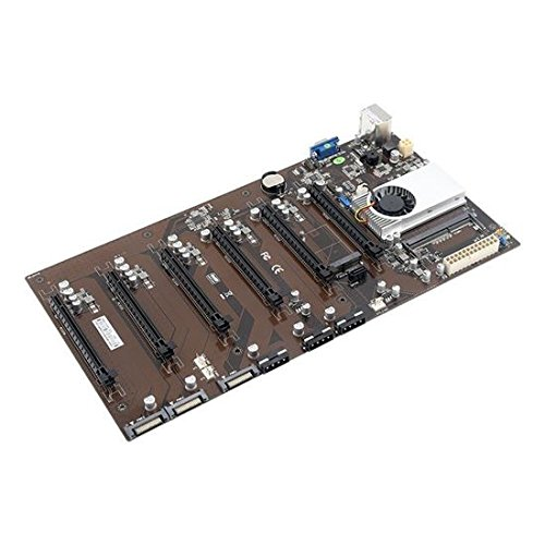 Onda D1800 BTC Mining Motherboard (6 GPU) (Best Cpu For Gpu Mining)