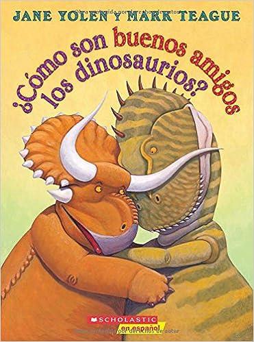 ¿Cómo son buenos amigos los dinosaurios?