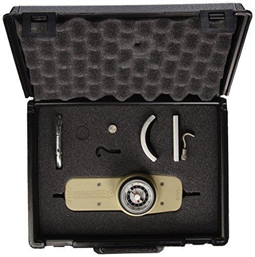 - Baseline Analog Hydraulic Push Pull Dynamometer, 250 lbs Capacity