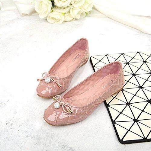 Women Classic Casual Fashion Foldable Comfy Ballet Flats Pointed-Toe Dress Flats Shoes S-4 Njb3Xg