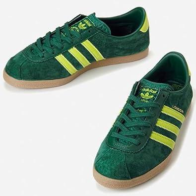 ff249da7b616a3 adidas London Schuhe Sneaker gruen Wildleder Gr. 36-49  Amazon.de ...