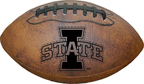 - NCAA Iowa State Cyclones Vintage Throwback Football, 9-Inches