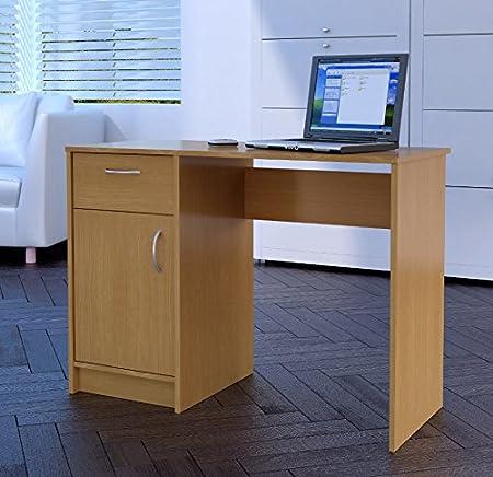 home office desktop 1. Home Source Tyler 1-Drawer 1-Door Compact Computer Workstation/Home/Office Office Desktop 1 I