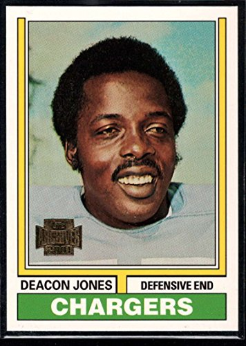 Deacon Jones Nfl (Football NFL 2001 Topps Archive #154 Deacon Jones Chargers)
