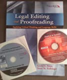 Legal Editing and Proofreading, Lynda D. Ernst and Susan M. Kolbinger, 076384411X