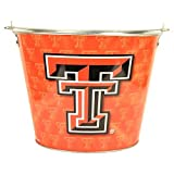 Texas Tech Red Raiders 5 Qt. Black Aluminum Ice Bucket