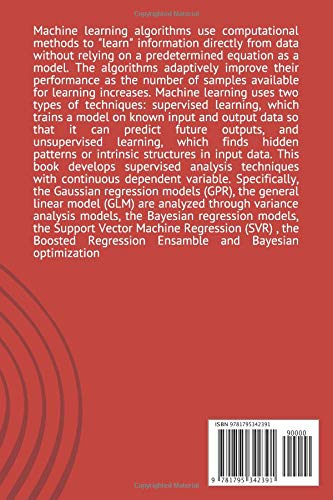 MACHINE LEARNING with MATLAB: GAUSSIAN PROCESS REGRESSION, ANALYSIS