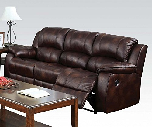 Acme 50510 Sectional Polished Microfiber Overview