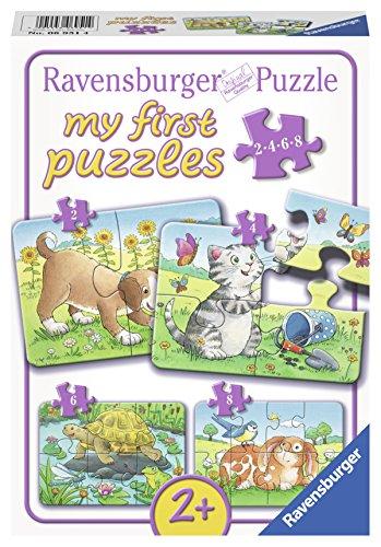 Pet Cute My (Ravensburger Cute Pets Jigsaw Puzzle (2, 4, 6, 8 Piece))