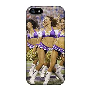 Sanp On Case Cover Protector For Iphone 5/5s (minnesota Vikings Cheerleaders)