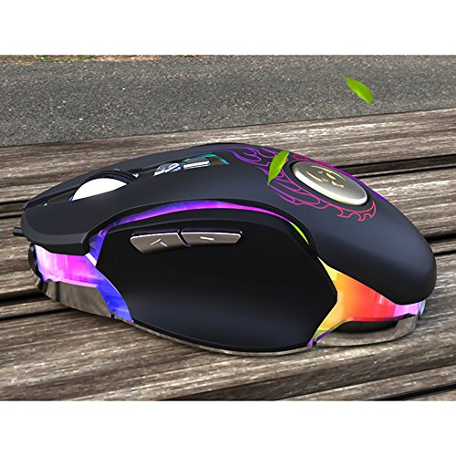 Gaming Mouse,Powpro Gfun PP-BM600 Gaming Mouse 250-4000 DPI Ergonomic Comfortable Grip High Precision Computer Mouse by Powpro (Image #4)