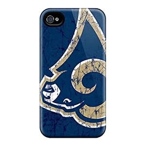 For iphone 4 4s Protector Cases St. Louis Rams Phone Covers