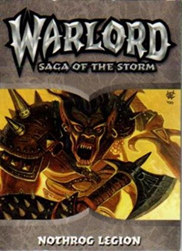 Warlord - Saga of the Storm - Nothrog Legion Deck