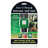 Save a Drop Easy-to-Read LCD Water Meter