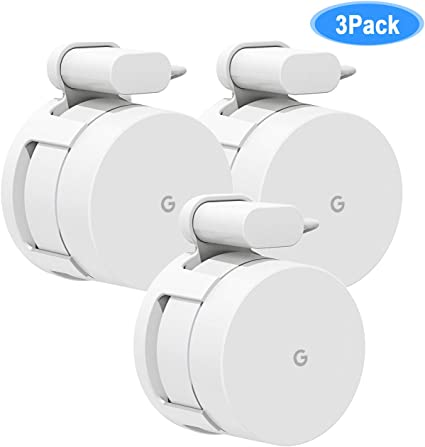Google WiFi Networking Products Wall Mount Bracket,Fits Snugly To WiFi,Best For
