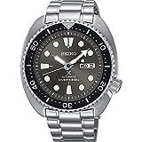 SEIKO PROSPEX 'Turtle' Diver's 200M Automatic Watch Grey Sunburst Dial SRPC23K1