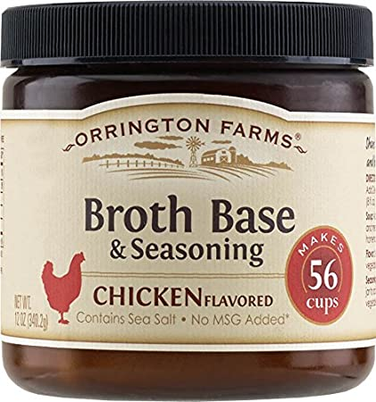 Orrington Farms Natural Broth Base & Seasoning, Chicken, 12 Ounce