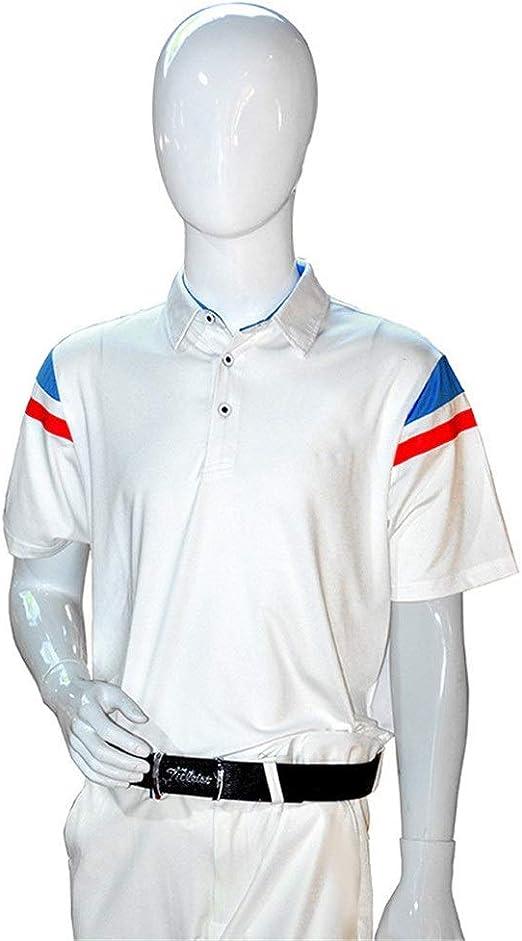Susulv Manga Corta Camisas de Polo de Golf de Manga Corta para ...