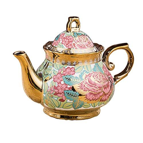 Luxury European style Ceramic Tea Pot Coffee Pot Beautiful o