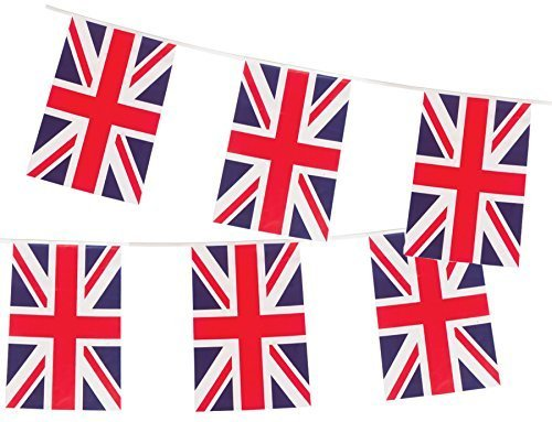 British Union Jack Large Flag Banner by Gabby Fun Corp