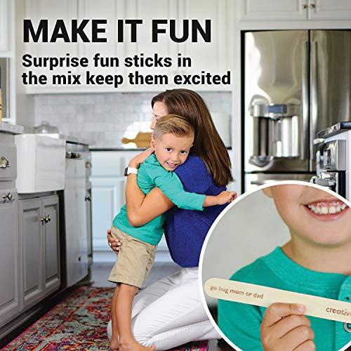 Creative QT Chore Sticks for Kids - Make Chores a Game - Interactive Family  Activity Combine Responsibility with Rewards - A Fun Alternative to a