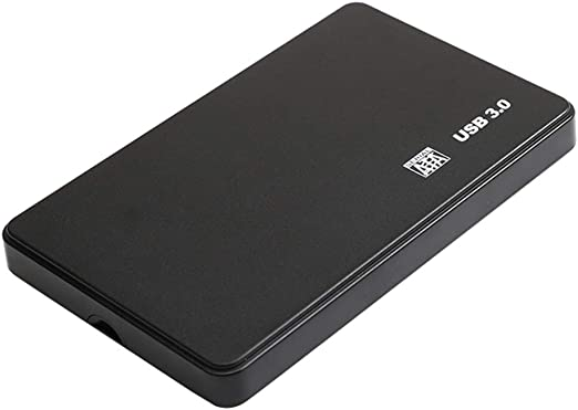外付けHDD 2.5インチ USB 3.0 ハードドライブ 高速 ABSプラスチック 黒色 - 2T