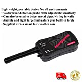 X9I1-HANDHELD ALTAI TREASURE SEEKER PINPOINTER METAL DETECTOR WITH COVER&TORCH-T330BP