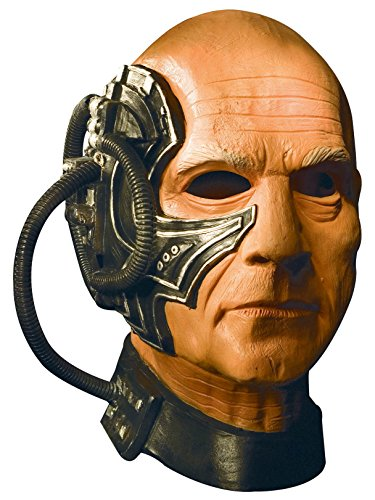 Star Trek the Next Generation Deluxe Adult Locutus Latex