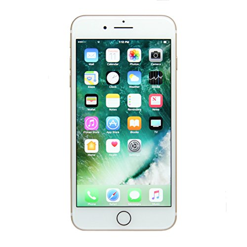 Apple iPhone 7 Plus, 128GB, Gold - Fully Unlocked (Renewed)
