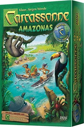 Asmodee- Carcassonne : Amazonas, CARCAMA01: Amazon.es: Juguetes y juegos