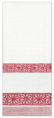Design Works Crafts Counted Cross Stitch Daisy Towel, 18 by 28