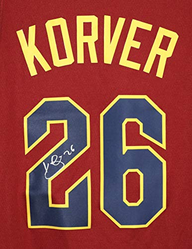 (Kyle Korver Cleveland Cavaliers Cavs Signed Autographed New Style Wine #26 Custom Jersey)
